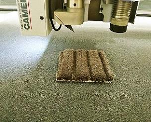 飞机地毯材料切割